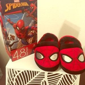 Other - Spider-Man Slippers